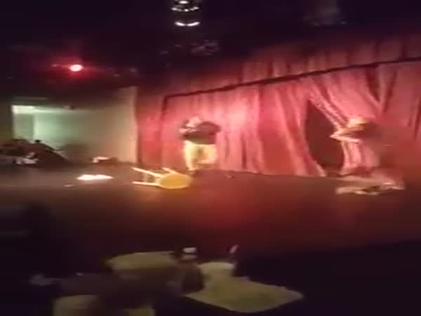 Comedian Steve Brown Attacked On Stage By Man At The Comedy House