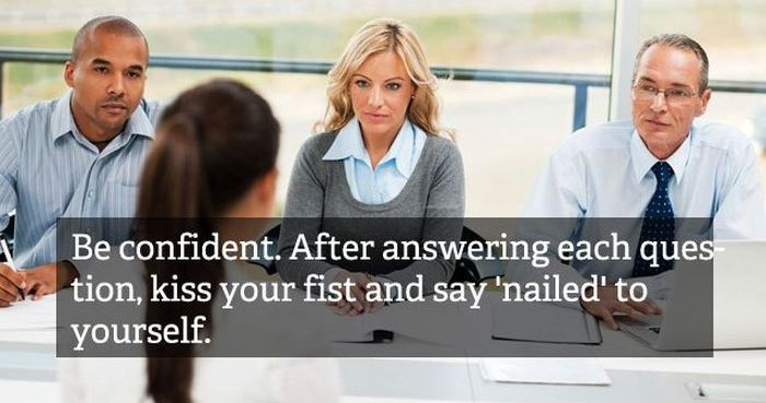 Really Bad Interview Advices (20 pics)