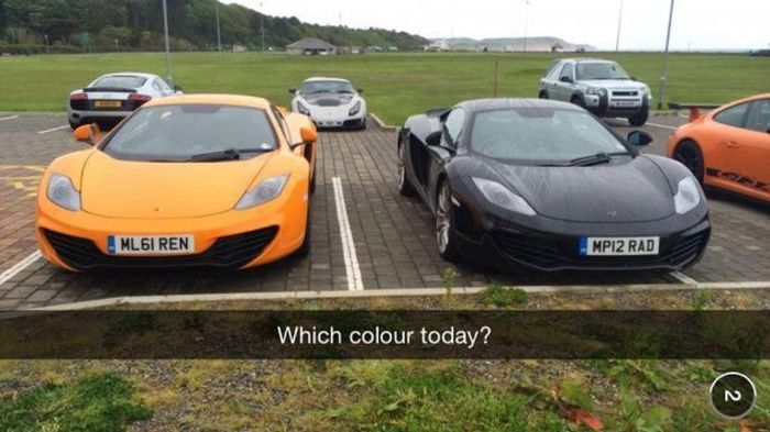 Snapchats From The Secret Lives of Rich Kids (24 pics)