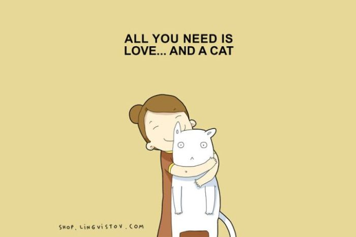 Illustrated Truths About Cats (15 pics)