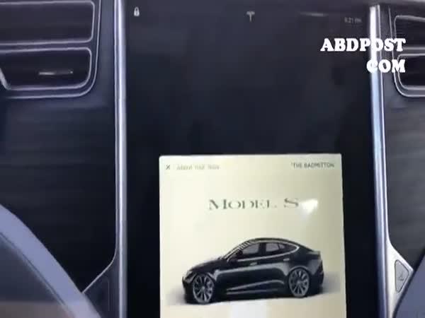 Tesla Autopilot Trick With Orange
