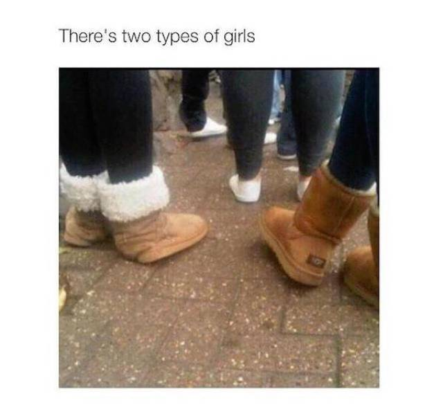 Only Two Kinds Of Girls Exist (30 pics)