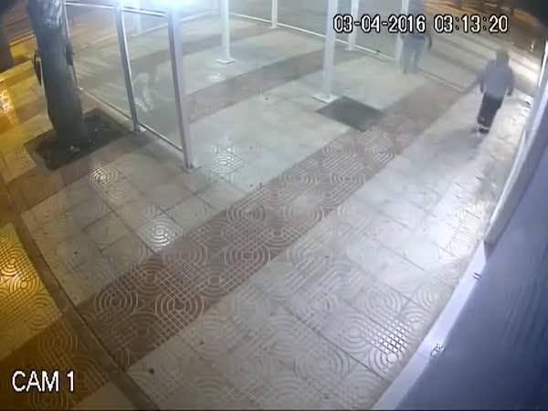 Burglar Gets What He Deserves Right Where He Deserves