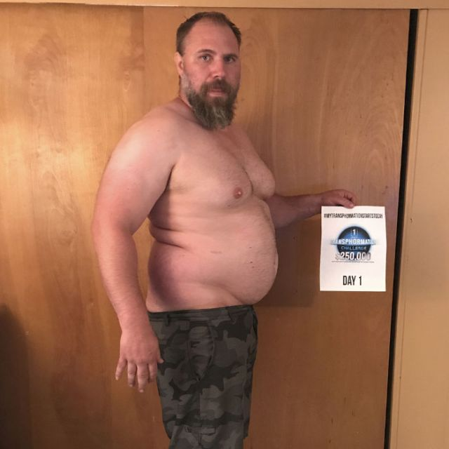 Man Loses 82 Pounds In 152 Days (10 pics)