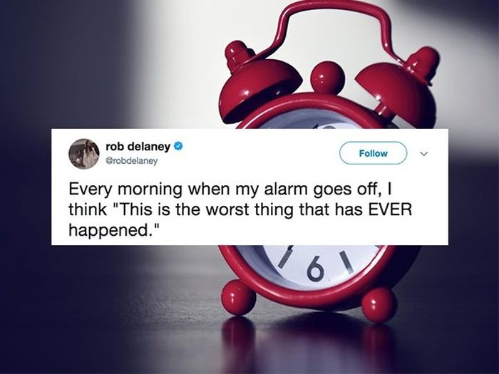 Tweets For Anyone Who Wishes They Were Still In Bed (20 pics)