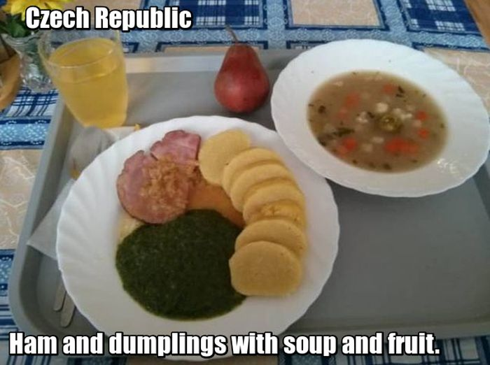 School Lunches Around The World (15 pics)