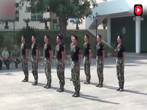 Chinese Army Training