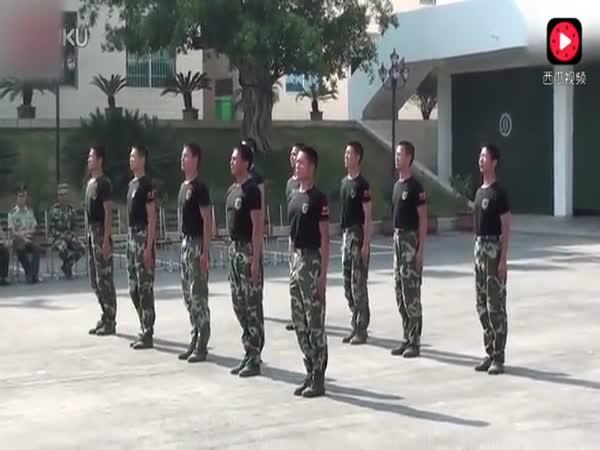 Chinese Army Training