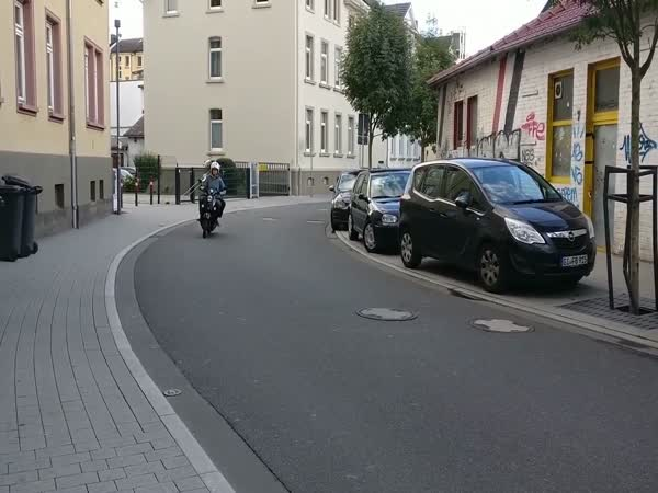 300 Km/h in a Small German Town