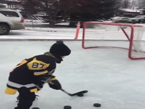This Little Kid Has What It Takes To Be A Great Hockey Player