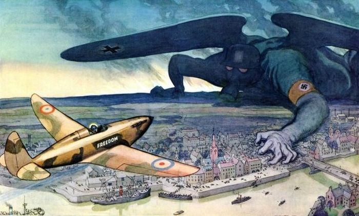 WW2 Political Cartoons (19 pics)
