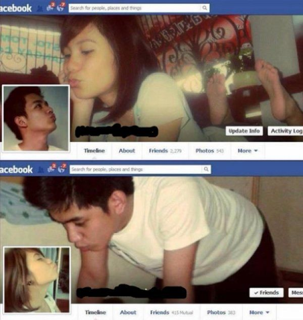 Obnoxious Couples (18 pics)