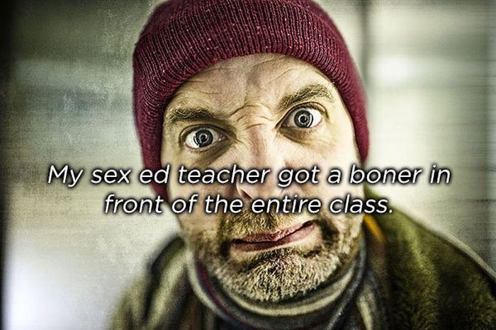 Embarrassing Sex Ed Stories (15 pics)