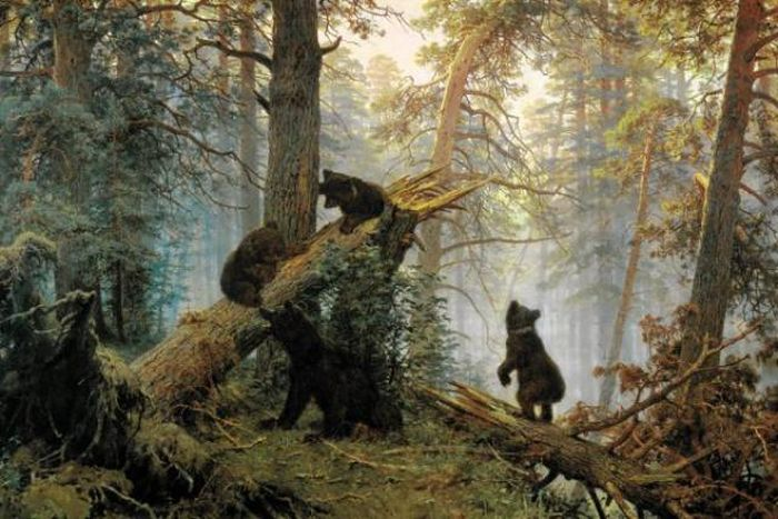 Awesome Paintings By a Russian Painter Ivan Shishkin (1832 - 1898) (21 pics)