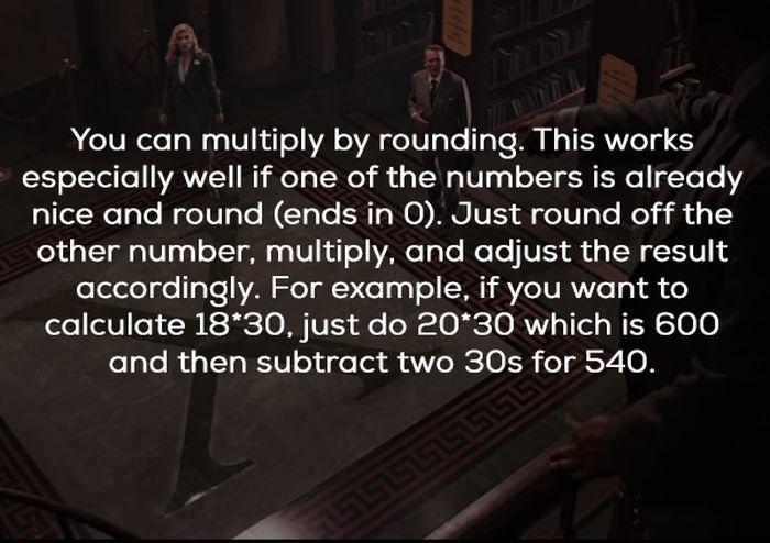 Mental Math Hacks (18 pics)