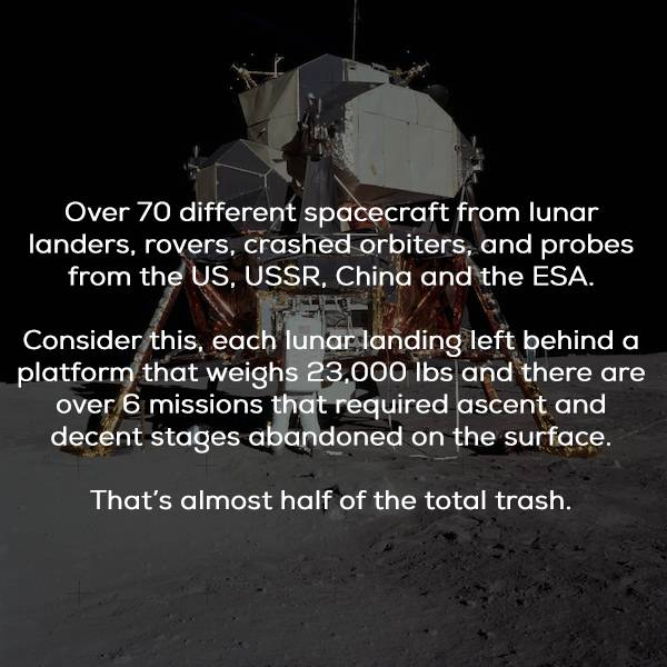 Things Left On The Moon By Humans (17 pics)