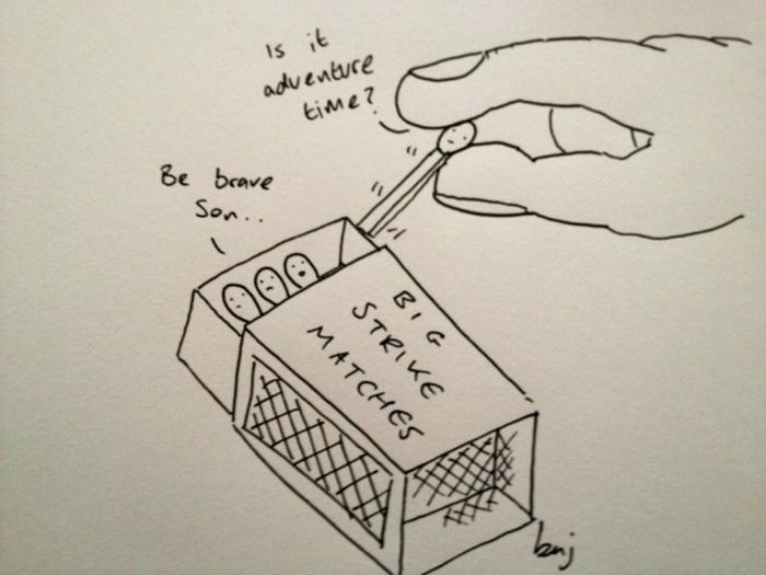 Sad Cartoons By Ben Cameron (14 pics)