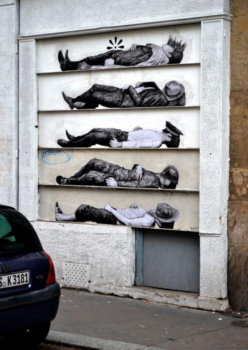 Street Art by Levalet (35 pics)