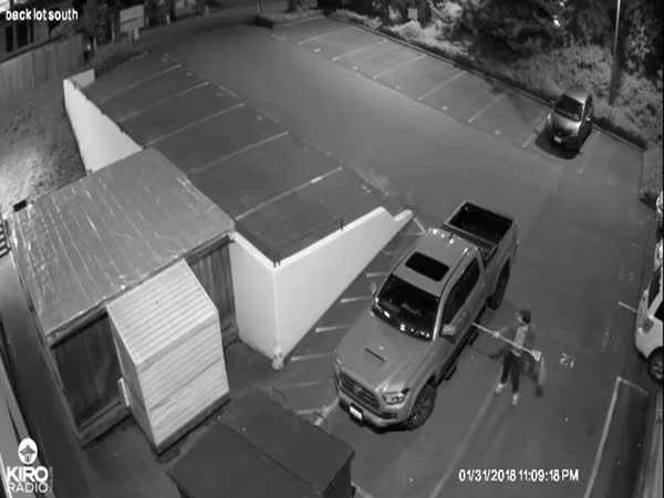 Car Burglary Gets A Proper Sports Commentary