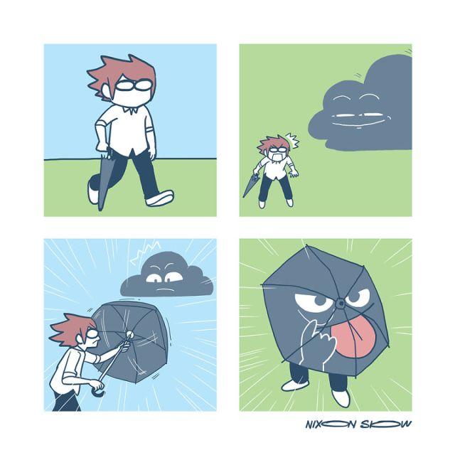 Sun And Cloud Comic Series (16 pics)