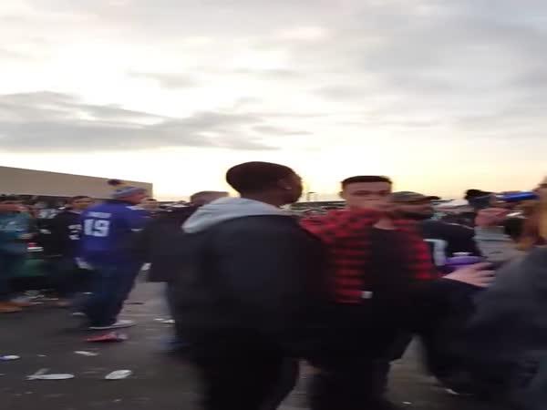 Philadelphia Eagles Fans Before Game