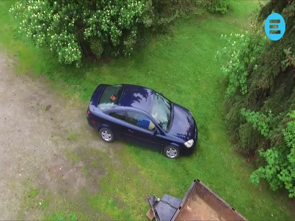 Girlfriend Caught Cheating by Drone