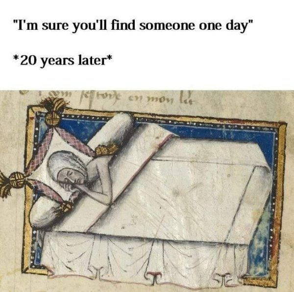 Renaissance Memes That Describe Dating Life (26 pics)