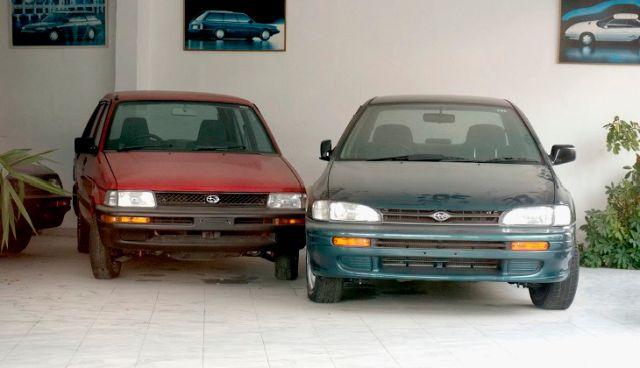 Abandoned Subaru Showroom  (12 pics)