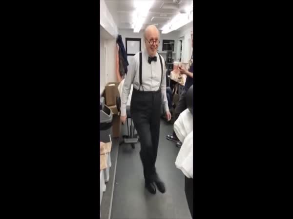 Funny Old Guy Dancing