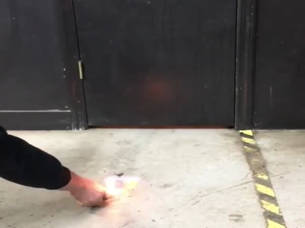 Setting Toilet On Fire Prank