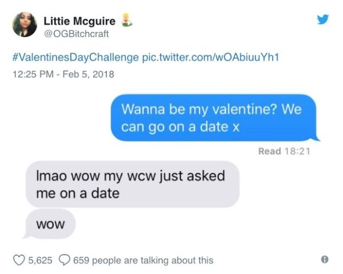 What Happens When Women Asked Out Their Crushes For Valentine's Day (15 pics)
