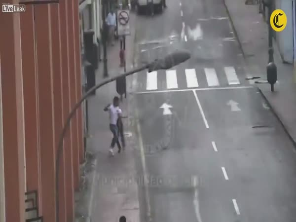 Street Robbery Gone Wrong