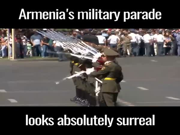 Armenia's Military Parade Looks Absolutely Surreal