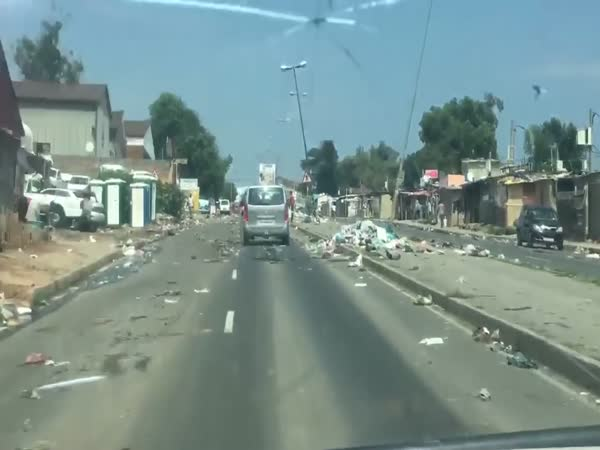 Garbage Mountains Rise On Streets Of South Africa