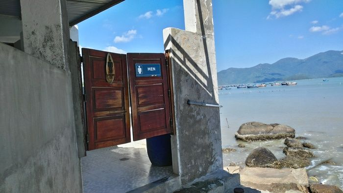 This WC in Vietnam Has A Great View (2 pics)