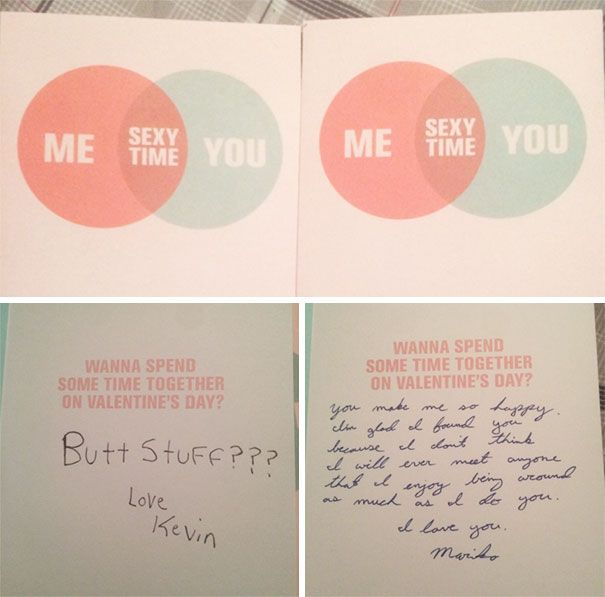 Funny Valentine's Day Gifts And Cards By People With An Unconventional Definition Of Romance (24 pics)