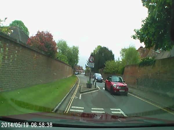 Dashcam Footage Shows Bentley Smashing Into Car