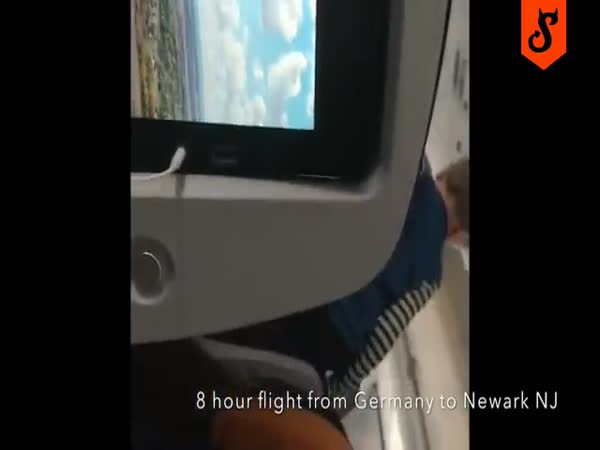 Demonic Child Screams And Runs Through An 8 Hour Flight From Germany To Newark