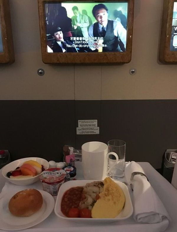 There Is Something Special About Flying With The First Class (3 pics)