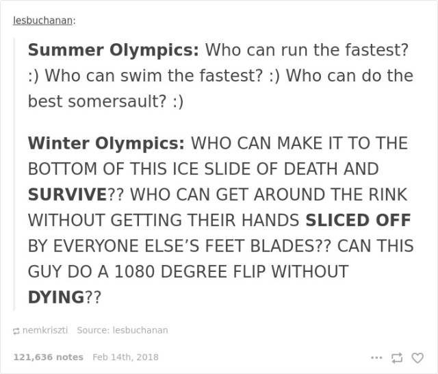 Funny Stuff About Winter Olympics (40 pics)