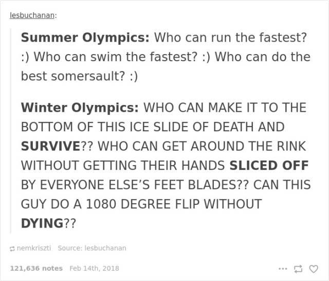 Funny Stuff About Winter Olympics (40 pics)