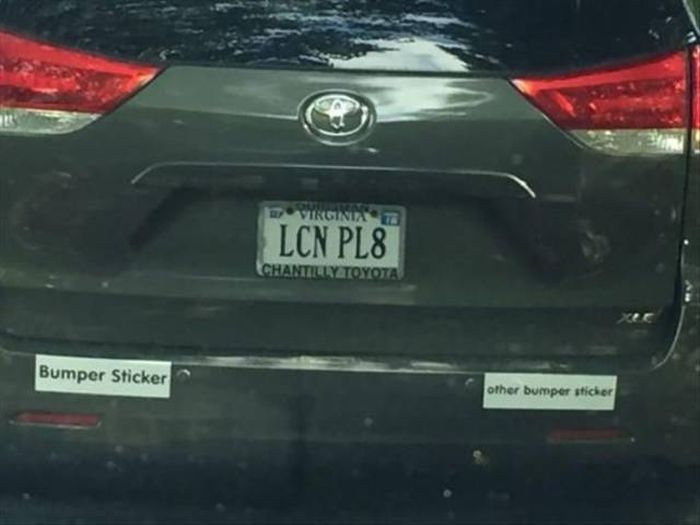License Plates That Are Even Better Than The Cars (26 pics)