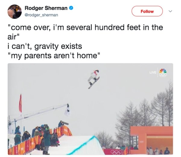Winning Tweets From the Winter Olympics (20 pics)
