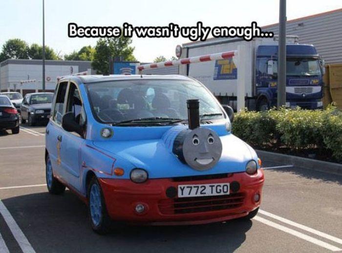 Funny Cars (31 pics)