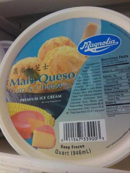 Very Strange Ice-cream Flavors (13 pics)