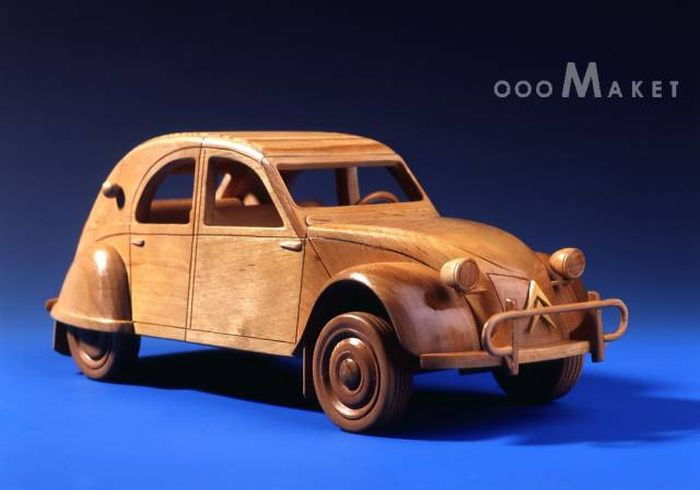 Unique Wooden Models From Russia Which Only Exist In One Copy Each (30 pics)
