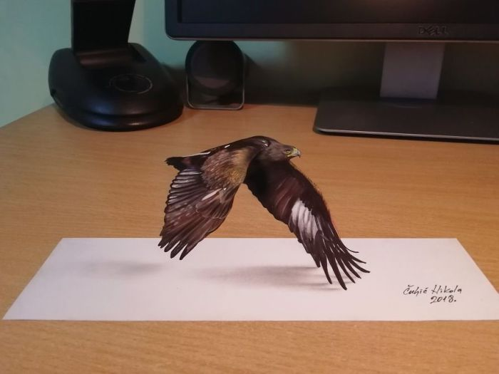 Amazing 3D Drawings (18 pics)