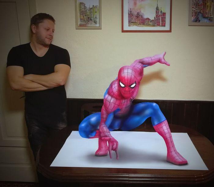Amazing 3D Drawings (18 pics)