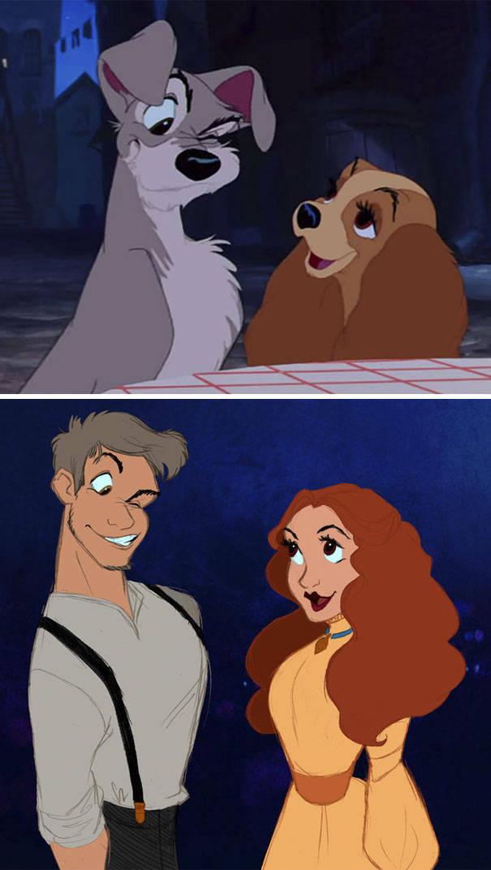 If Cartoon Characters Were Humans (40 pics)