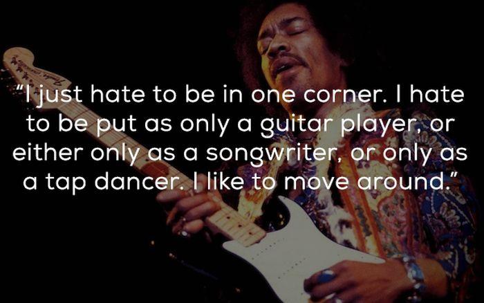 Quotes By Jimi Hendrix (25 pics)